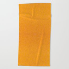 Yellow orange material texture abstract Beach Towel