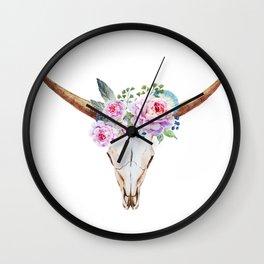Animal Skull 07 Wall Clock