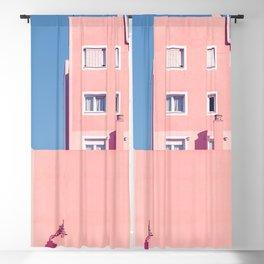 Sunny House And Blue Sky Blackout Curtain