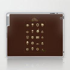 The Exquisite Pop Culture Skulls Museum Laptop & iPad Skin