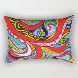 Tentacles 1 Rectangular Pillow