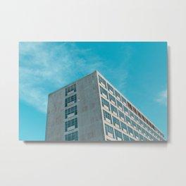 Minimalist Building Metal Print