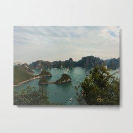 Halong Bay, Vietnam Metal Print