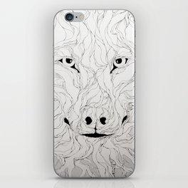 Wolfs wood iPhone Skin