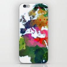 World Map - Watercolor iPhone & iPod Skin