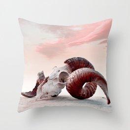 Aries Throw Pillow