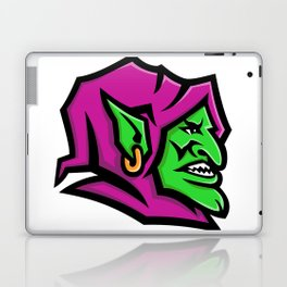 Goblin Head Mascot Laptop & iPad Skin