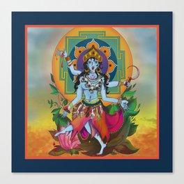 Kali, My Kali Canvas Print