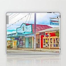 Welcoming village shop Laptop & iPad Skin