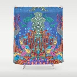 Underwater Parade Shower Curtain