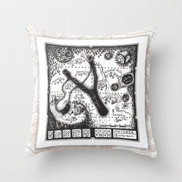 10-17 SLING Maptober 2019 Throw Pillow