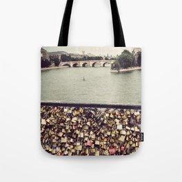 Pont des Art - Paris Tote Bag