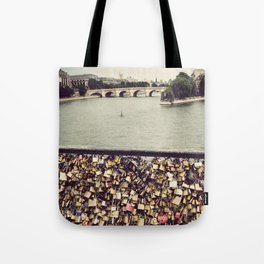 Pont des Art - Paris Tote Bag