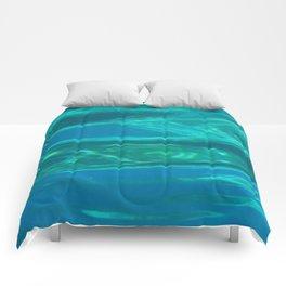 Below the surface - underwater picture - Water design Comforters
