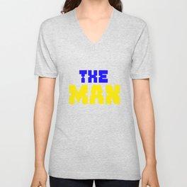 the man shirt Unisex V-Neck