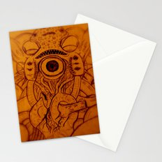 XARAXIN- Cosmic Terror Stationery Cards