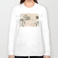 literary Long Sleeve T-shirts featuring Flowers for Alderaan by Eric Fan