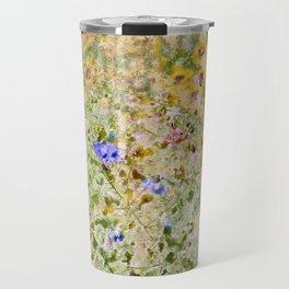 Floral Interlace Travel Mug