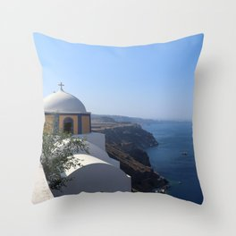 Cathedral Of Saint John The Baptist Throw Pillow