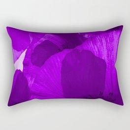 Ultra Violet Poppies #decor #society6 #buyart Rectangular Pillow