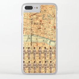 The South Bank Boys Clear iPhone Case