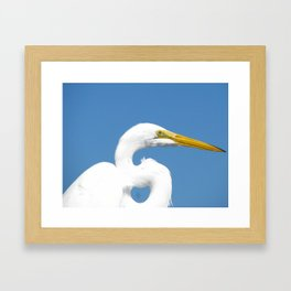 On the pier 2 Framed Art Print