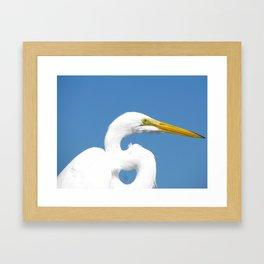On the pier 2 Framed Art Print
