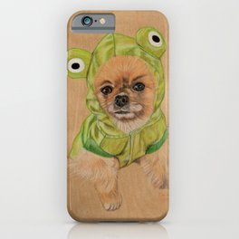 Littlle Greenie iPhone Case