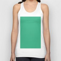 mint Tank Tops featuring Mint by List of colors