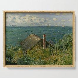 """Claude Monet """"La Cabane de Saint-Adresse"""" Serving Tray"""