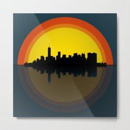 New York under the sun Metal Print
