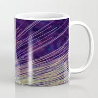 fireworks Mugs featuring Fireworks by Françoise Reina