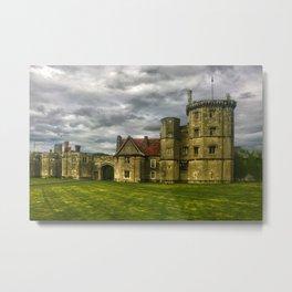 Thornbury Castle (HDR) Metal Print