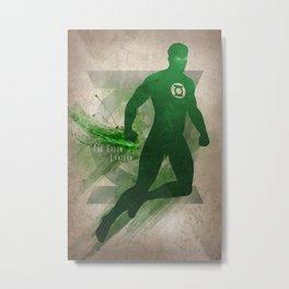 The Green Lantern Metal Print