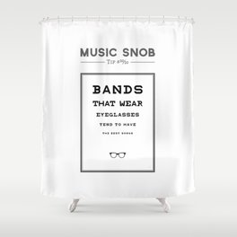 Fourth Eye Blind — Music Snob Tip #20/20 Shower Curtain