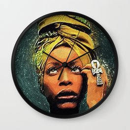 Erykah Badu Wall Clock