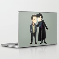 johnlock Laptop & iPad Skins featuring Johnlock by agartaart
