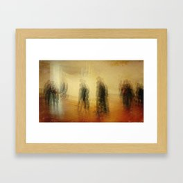 Exhibit Framed Art Print