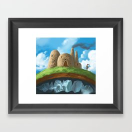Above or Below Framed Art Print