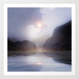 Magic in the Clouds VI Art Print