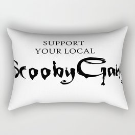 Support your local Scooby Gang Rectangular Pillow