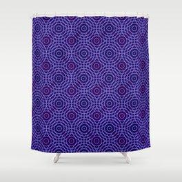 Op Art 96 Shower Curtain