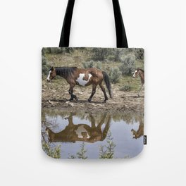 Matching Pair - South Steens Mustangs Tote Bag