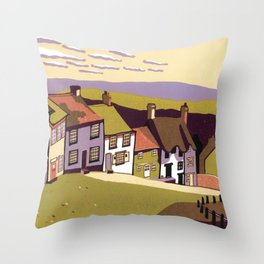 Gold Hill Throw Pillow