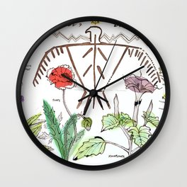 Dream It, Live It Wall Clock