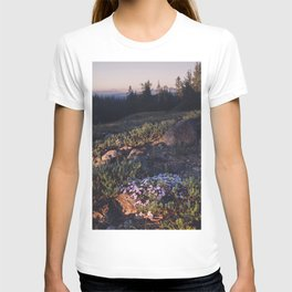 Wildflowers at Dawn - Nature Photography T-shirt