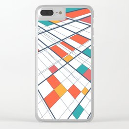 Perspective and colors Clear iPhone Case