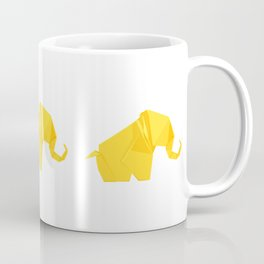 Origami Elephant Coffee Mug