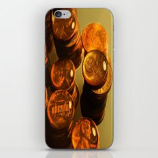 A Penny For Your Thoughts. iPhone & iPod Skin