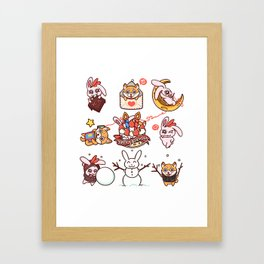 AHLILCUP ♡ Framed Art Print